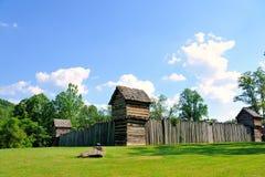 Fortificazione del Prickett; Fairmont, WV Fotografie Stock