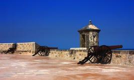 Fortificazione del San Miguel Fotografie Stock Libere da Diritti