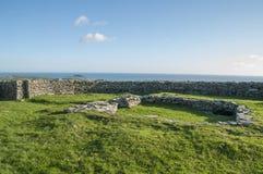 Fortificazione della pietra di Knockdrum Fotografie Stock Libere da Diritti