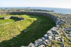 Fortificazione della pietra di Knockdrum Immagine Stock