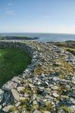 Fortificazione della pietra di Knockdrum Fotografia Stock