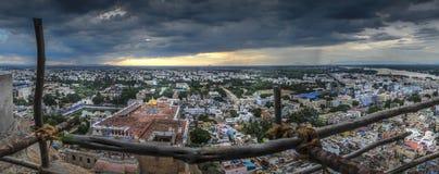 Fortificazione della roccia di Tiruchirapalli Fotografia Stock Libera da Diritti