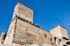 Fortificazione della vista inferiore di Diosgyor Fotografia Stock