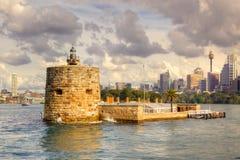 Fortificazione denison a Sydney Fotografia Stock