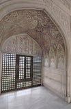 Fortificazione di Agra - appartamento dell'imperatore Fotografie Stock Libere da Diritti