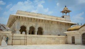 Fortificazione di Agra a Agra, India immagine stock libera da diritti