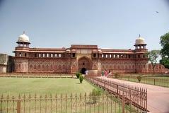 Fortificazione di Agra, India Immagini Stock