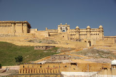 Fortificazione di ambra, Ragiastan Fotografia Stock Libera da Diritti
