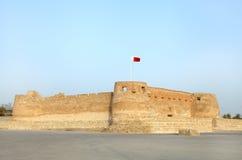Fortificazione di Arad, Bahrain fotografia stock