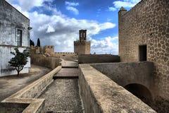 Fortificazione di Badajoz immagini stock libere da diritti
