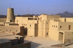 Fortificazione di Bahla Fotografie Stock Libere da Diritti