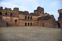 Fortificazione di Bhiloni, damoh Madhya Pradesh di hatta immagini stock libere da diritti
