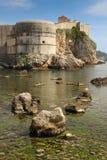 Fortificazione di Bokar dubrovnik La Croazia Immagini Stock