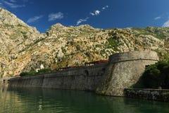 Fortificazione di Cattaro Immagine Stock
