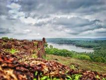 Fortificazione di Chapora Immagine Stock
