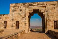 Fortificazione di Chittorgarh, Ragiastan, India Fotografie Stock