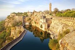 Fortificazione di Cittorgarh, India Fotografie Stock Libere da Diritti