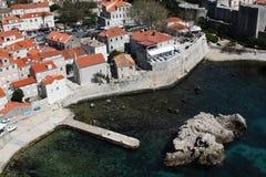 Fortificazione di Dubrovnik Immagini Stock