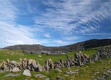Fortificazione di Duchatair del Dun immagine stock