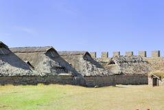 Fortificazione di Eketorp fotografie stock