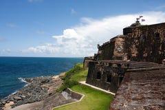 Fortificazione di EL Morro Fotografia Stock Libera da Diritti