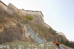 fortificazione 148_The di Exilles Fotografia Stock