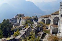 Fortificazione di Fenestrelle Fotografia Stock Libera da Diritti