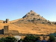 Fortificazione di Genova Immagine Stock