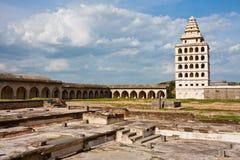 Fortificazione di Gingee fotografia stock libera da diritti
