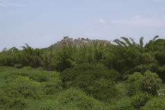 Fortificazione di Golconda Fotografie Stock Libere da Diritti