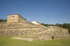 Fortificazione di guerra Fotografie Stock Libere da Diritti