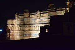 Fortificazione di Gwalior Immagine Stock Libera da Diritti