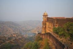 Fortificazione di Jaigarh, Jaipur fotografia stock