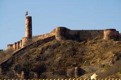 Fortificazione di Jaigarh, Jaipur Fotografia Stock Libera da Diritti