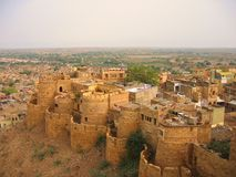 Fortificazione di Jaisalmer Immagine Stock