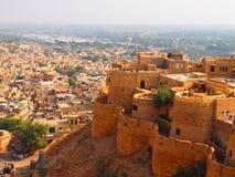 Fortificazione di Jaisalmer Fotografia Stock