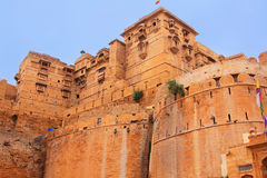 Fortificazione di Jaisalmer, Ragiastan, India Fotografia Stock Libera da Diritti