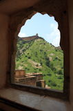 Fortificazione di Jaygarh a Jaipur. Immagine Stock Libera da Diritti