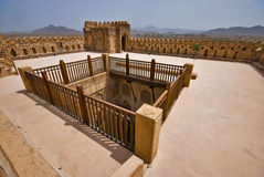 Fortificazione di Jibreen Fotografie Stock