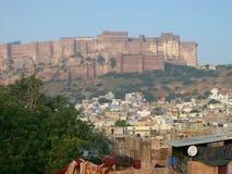 Fortificazione di Jodhpur in India Immagine Stock Libera da Diritti