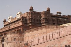 Fortificazione di Junagarh fotografia stock libera da diritti