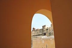 Fortificazione di Junagarh, Bikaner Immagini Stock