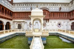 Fortificazione di Junagarh, India fotografie stock