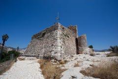 Fortificazione di Kastellorizo Fotografia Stock