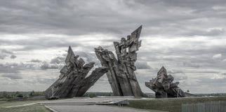 Fortificazione di Kaunas nona Fotografia Stock Libera da Diritti