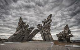 Fortificazione di Kaunas nona Immagini Stock Libere da Diritti
