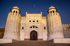 Fortificazione di Lahore Fotografia Stock Libera da Diritti