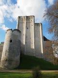 Fortificazione di Loches, il Dungeon, Loire Valley Fotografia Stock