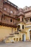 Fortificazione di Meherangarh, Jodhpur, India Fotografia Stock