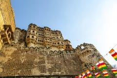 Fortificazione di Meherangarh - Jodhpur - India Fotografie Stock Libere da Diritti